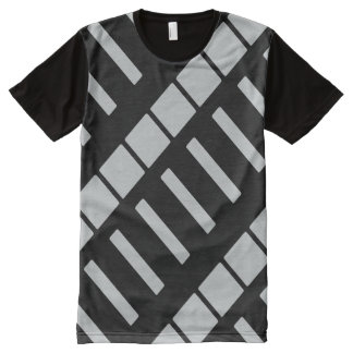 Choose background panel color All-Over-Print T-Shirt