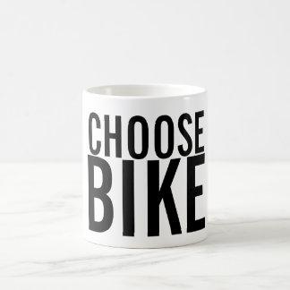 CHOOSE BIKE COFFEE MUG