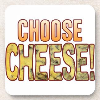 Choose Blue Cheese Beverage Coaster