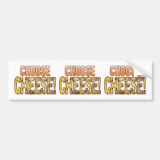 Choose Blue Cheese Bumper Sticker