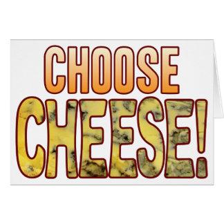 Choose Blue Cheese Card