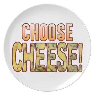 Choose Blue Cheese Plate