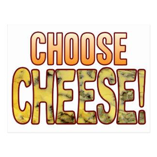 Choose Blue Cheese Postcard