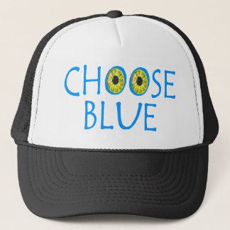 Choose Blue Trucker Hat