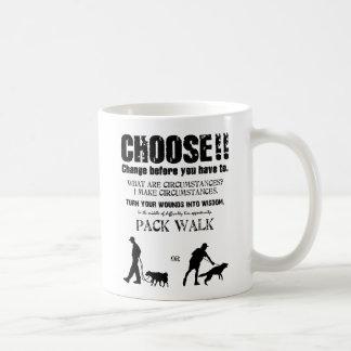 Choose! - Change before you have to. Coffee Mug