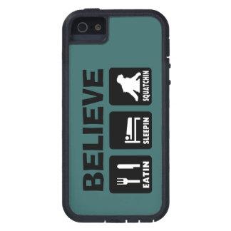 Choose Color  Bigfoot Eatin Sleepin Squatchin iPhone SE/5/5s Case