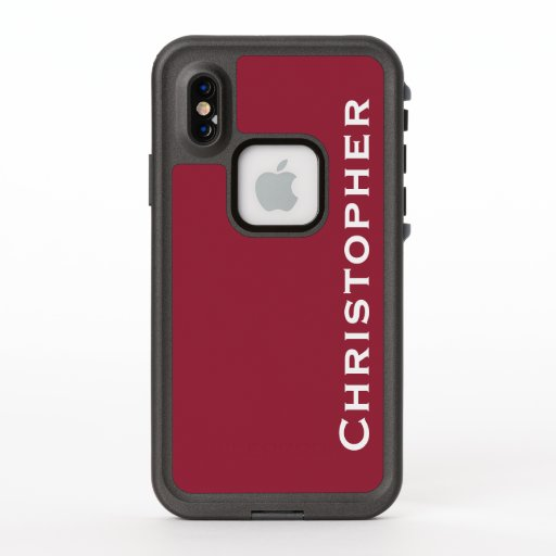 Choose Color iPhone Lifeproof Fre Jester Red Case
