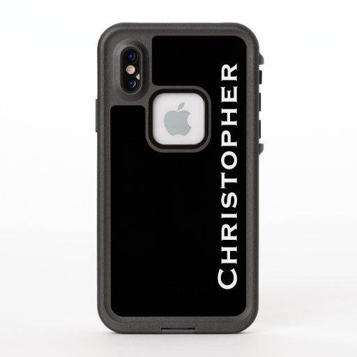 Choose Color iPhone XS Lifeproof Fre Custom Case