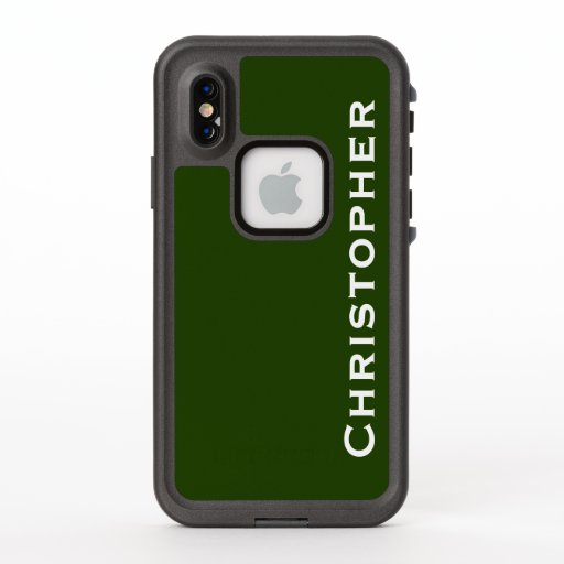 Choose Color iPhone XS Lifeproof Fre Green Case