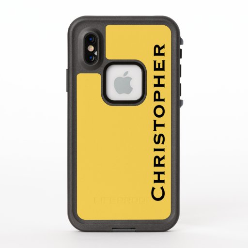 Choose Color iPhone XS Lifeproof Fre Yellow Case