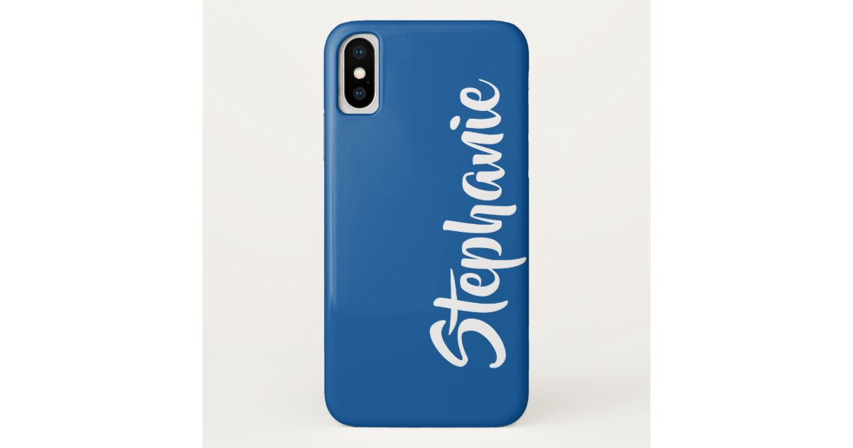 Choose Color Personalized Iphone Xs Xs Max Xr Case Mate Iphone Case Zazzle Com