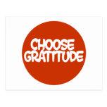 Choose Gratitude Post Card