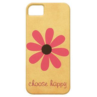 Choose Happy Affirmation iPhone SE/5/5s Case
