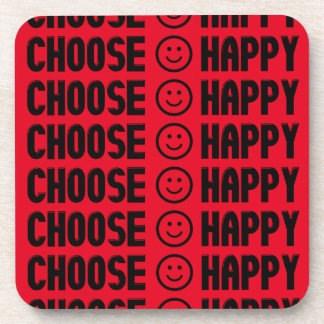 Choose Happy Coasters