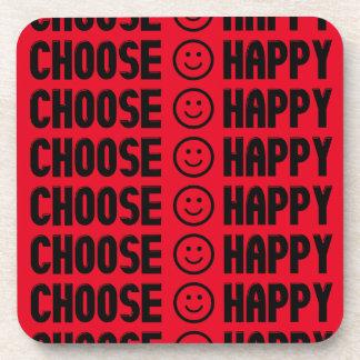Choose Happy Coasters