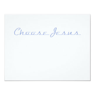 Choose Jesus (Car Chrome) Card