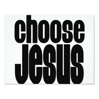 Choose Jesus Card