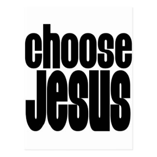 Choose Jesus Postcard