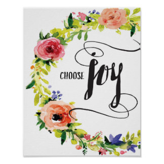 Choose Joy Art Print