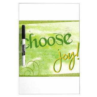Choose Joy Dry Erase Board