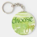 Choose Joy Keychain