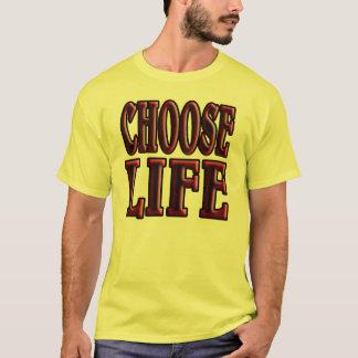 choose life. 1980's style. T-Shirt