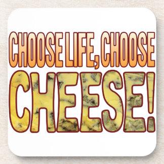 Choose Life Blue Cheese Coaster