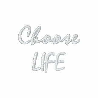 Choose LIFE Embroidered Shirt