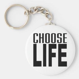Choose Life Key Chains