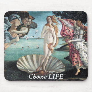 Choose LIFE Mouse Pads