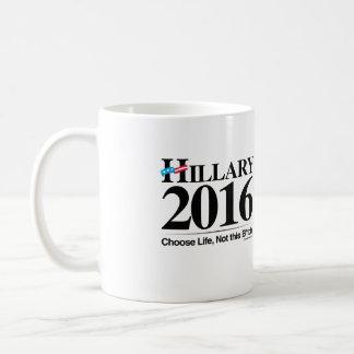 Choose Life Not Hillary - Anti Hillary png.png Coffee Mugs