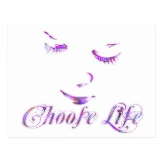 Choose Life Postcard