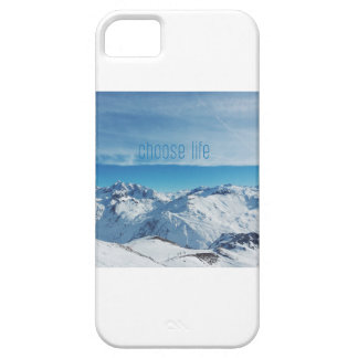 Choose Life Snow & Sea Photography Art iPhone Case