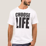 """Choose Life T-Shirt<br><div class=""""desc"""">Wham! Here it is... the classic 80s shirt in the exact style and font of the original. Don&#39;t be fooled by the others,  this is it!</div>"""