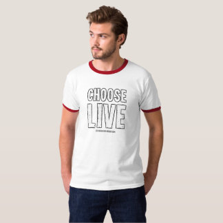 Choose live and support your favorite bands! T-Shirt