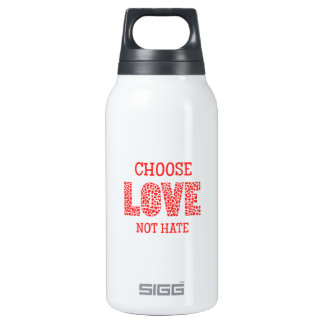 Choose LOVE Not Hate Insulated Water Bottle