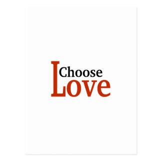 Choose Love Postcard