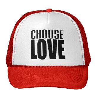 CHOOSE LOVE TRUCKER HAT