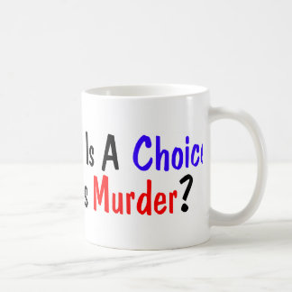 Choose Meat! Classic White Coffee Mug
