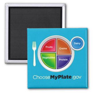 Choose My Plate (Blue) Magnet