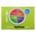 Choose My Plate (Green) Placemat
