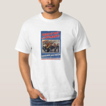 Choose Navy, Vintage WWII Recruiting Poster T