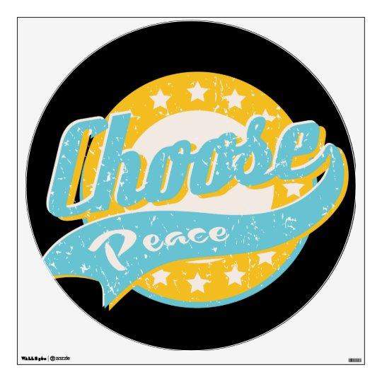 Choose Peace Wall Sticker