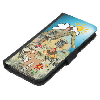 choose phone style country house samsung galaxy s5 wallet case