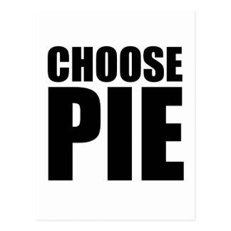 Choose Pie Postcard