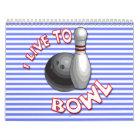 Choose start date bowling calendar