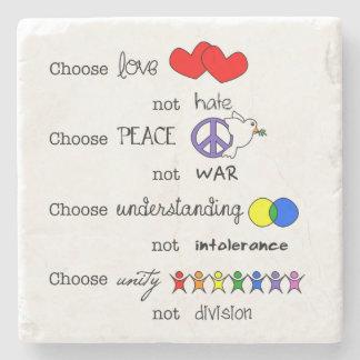 Choose Stone Coaster