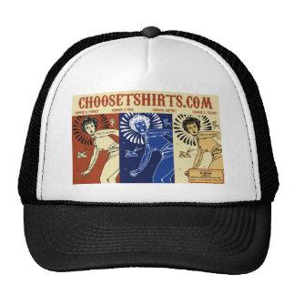 Choose t-shirts promotional banner design trucker hat