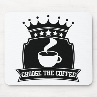 choose the coffee mouse pad