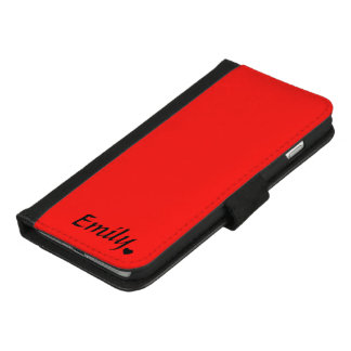 CHOOSE THE COLOR Custom iPhone 8/7 Plus Wallet Case